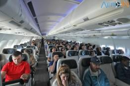 O voo estava com 95% de ocupação no trecho para REC