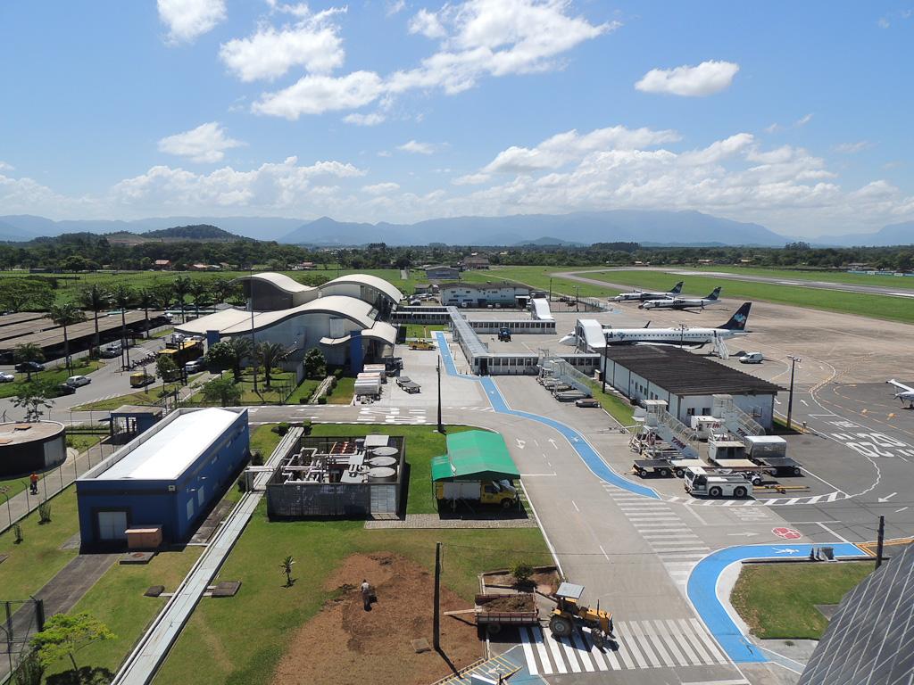 Aeroporto de Joinville tem alta na movimentação no primeiro trimestre.