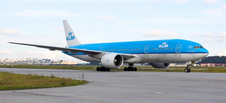 Avião Boeing 777-200 KLM