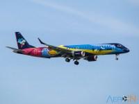 Avião Embraer 195 Azul Verão