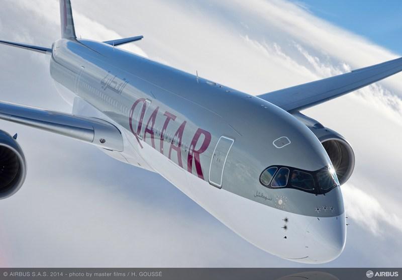 Airbus A350-900 Qatar