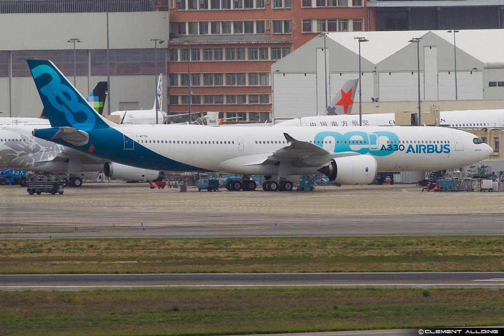 Airbus A330neo tem os motores instalados e deverá decolar em breve