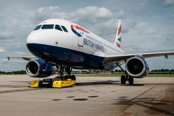 Avião Airbus A319 British Airways