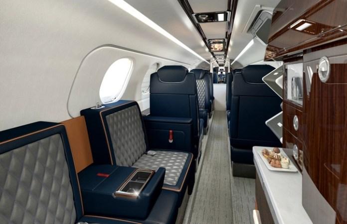 Jato Executivo Embraer Phenom 300E Interior