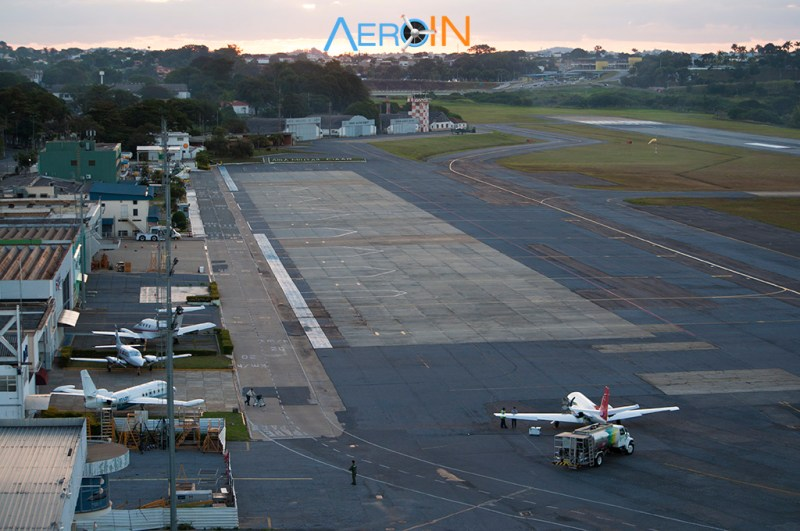 pátio aeroporto Pampulha