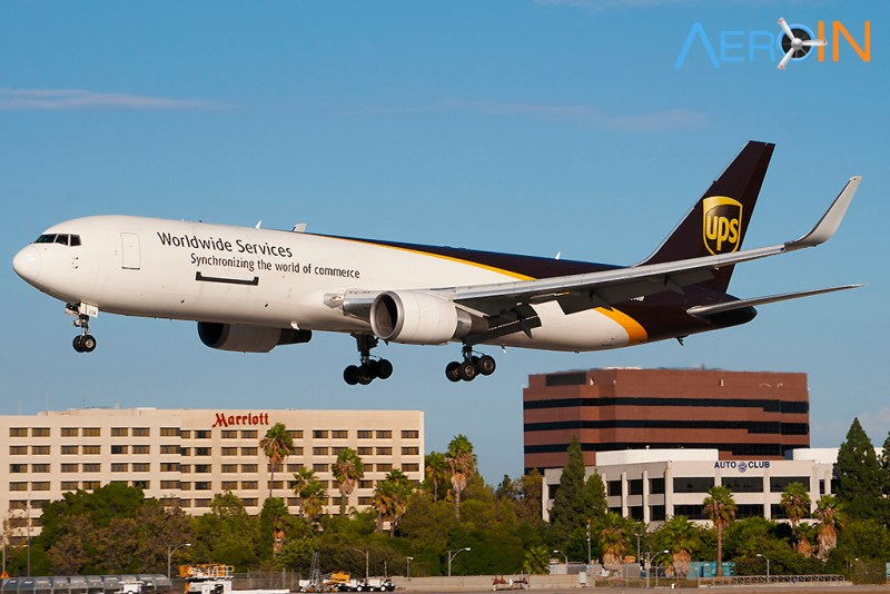 Avião Boeing 767F UPS
