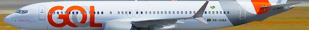 Avião Boeing 737 MAX Gol