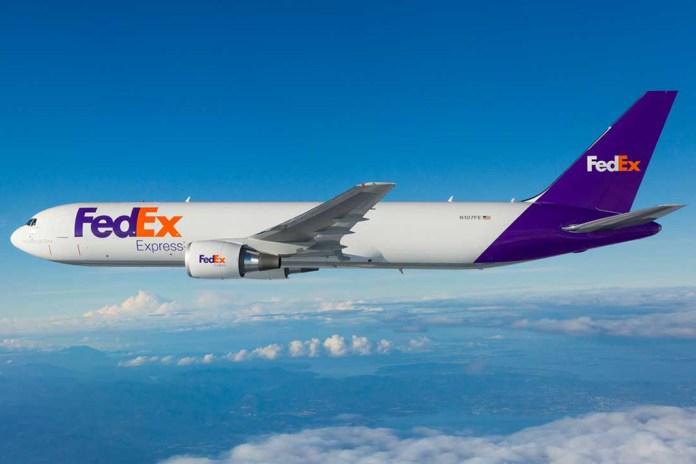 Avião Boeing 767F FedEx