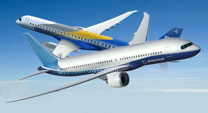 Avião Embraer E-Jet E2 Boeing 797