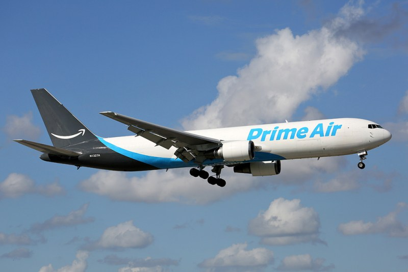Avião Boeing 767F Prime Air Amazon