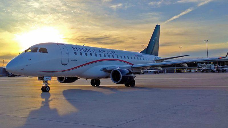 Avião Embraer 175 Republic Airways