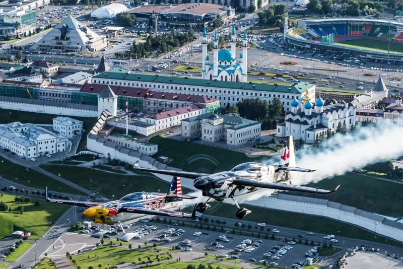 Red Bull Air Race Rússia Corrida Aérea