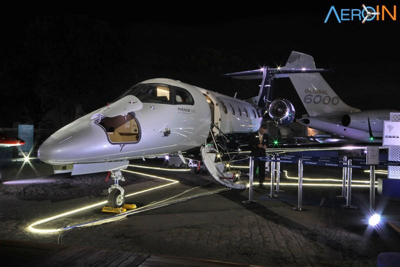 Avião Jato Executivo Embraer Phenom 300E Labace 2018