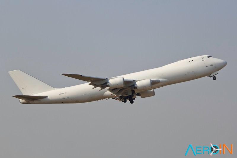 Avião Boeing 747-8F Atlas Air Cargo