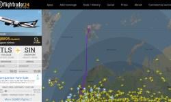 Print Flight Radar 24 Voo Entrega Airbus A350ULR