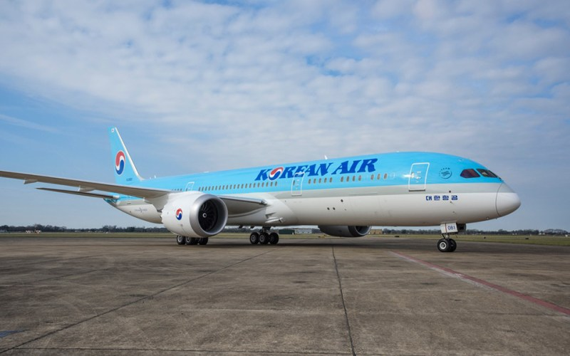 Avião Boeing 787-9 Dreamliner Korean Air