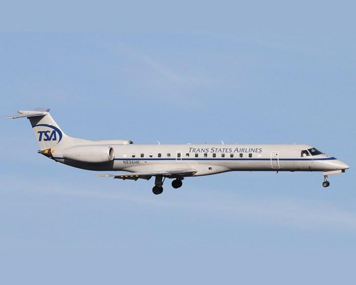 Avião Embraer ERJ-145 Trans State Airlines