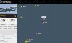 FlightRadar24 Singapore A350-900ULR