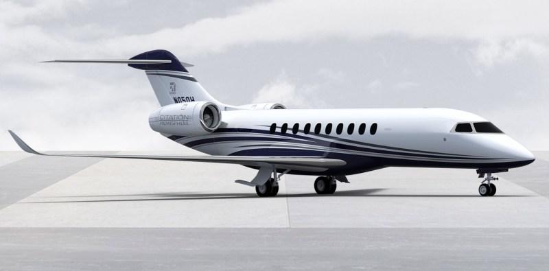 Avião Textron Cessna Citation Hemisphere