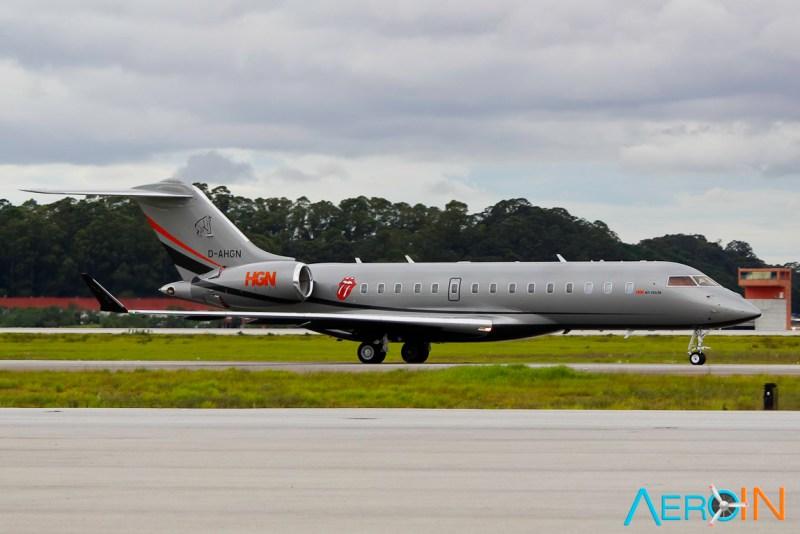 Avião Bombardier Global 6000