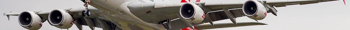 Avião Airbus A380 Qantas