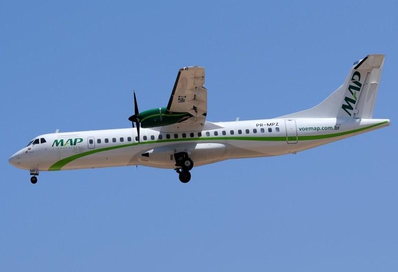 Resultado de imagem para Fotos de avião ATR da MAP
