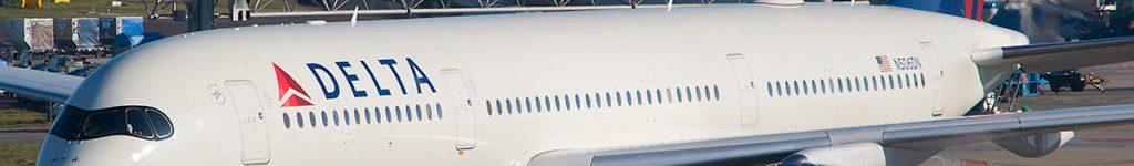 Avião Airbus A350-900 Delta Air Lines