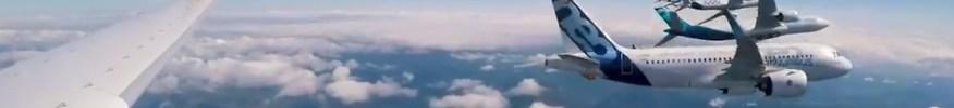 Airbus Vídeo Voo 50 Anos bastidores