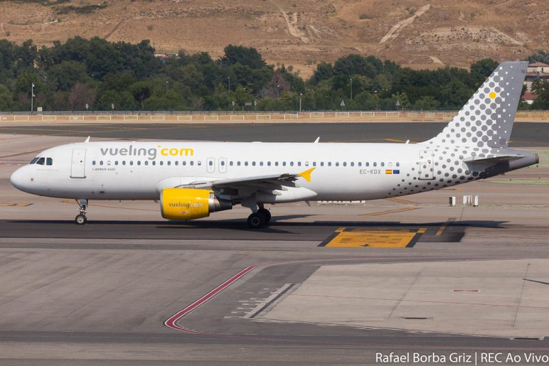 Avião Airbus A320 Vueling