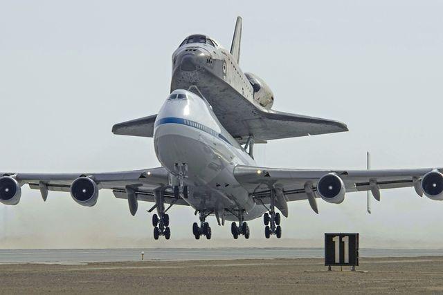 Boeing 747 Ônibus Espacial