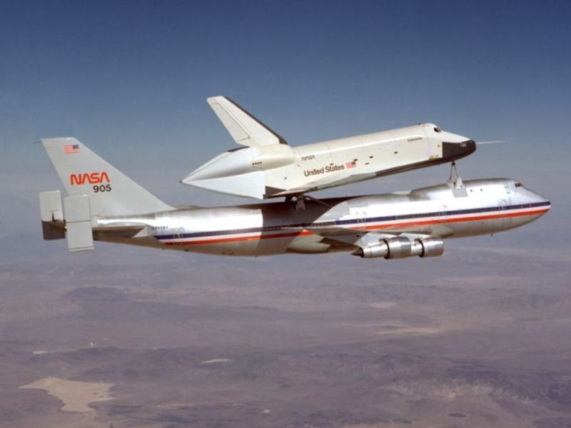 Boeing 747 Space Shuttle