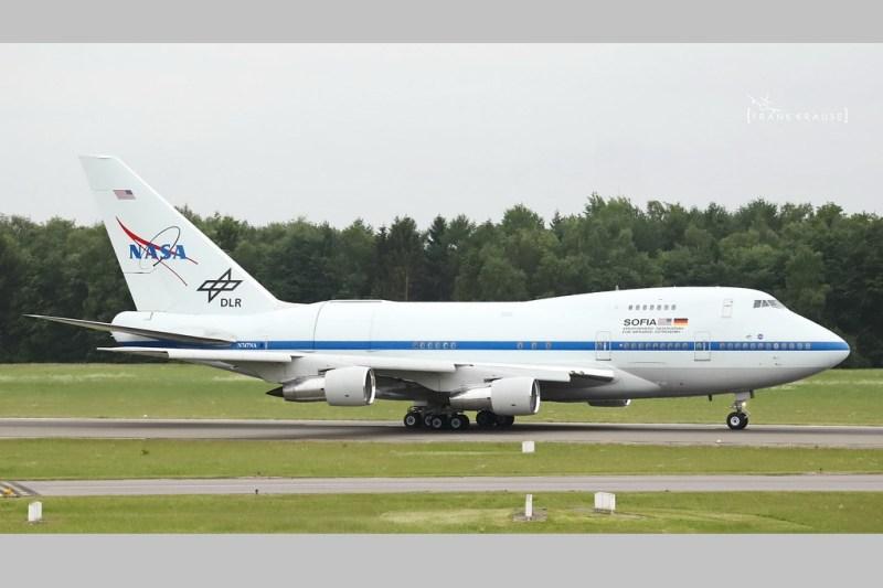 Avião Boeing 747 SP Frank Krause