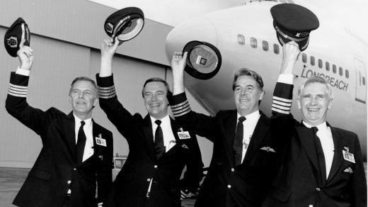 Qantas Voo Histórico 1989