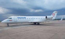 Avião CRJ 200 Paranair