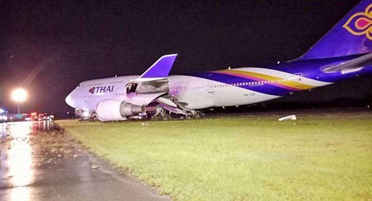 Thai 747 2018 crash