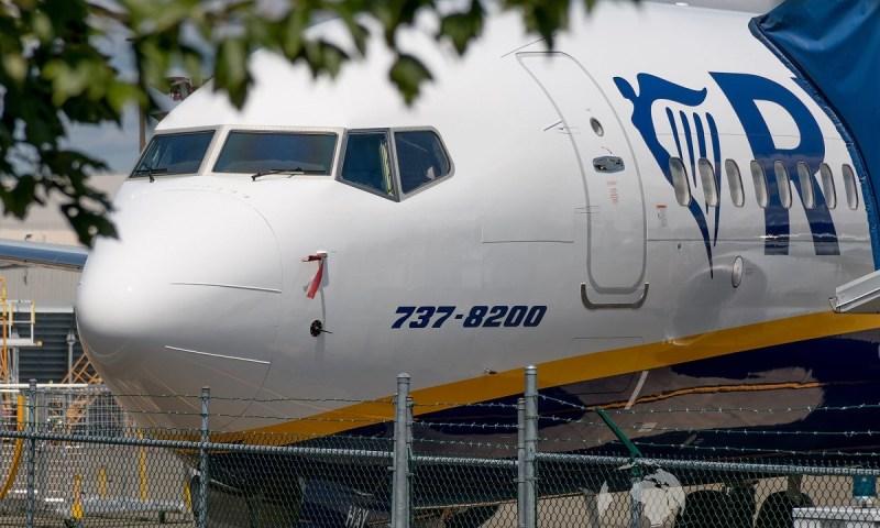 Boeing 737 MAX na Ryanair