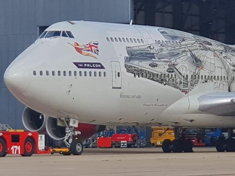 Boeing 747 Falcon