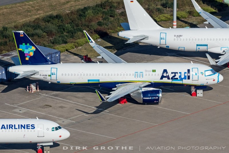 Airbus A321neo A320neo Azul