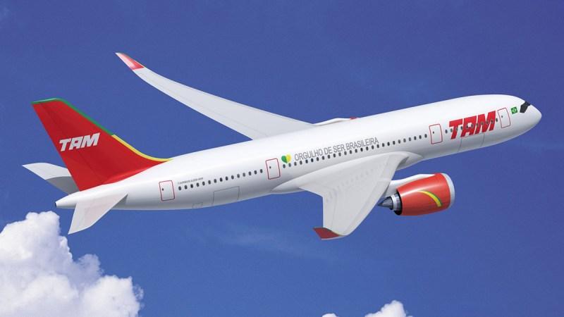 Airbus A350-900 800 TAM