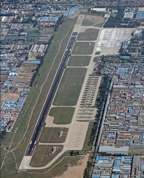 Aeroporto Nanyuan Imagem Aérea China