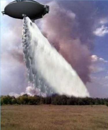 Aerosmena aeroplataforma tanker combate incêndio