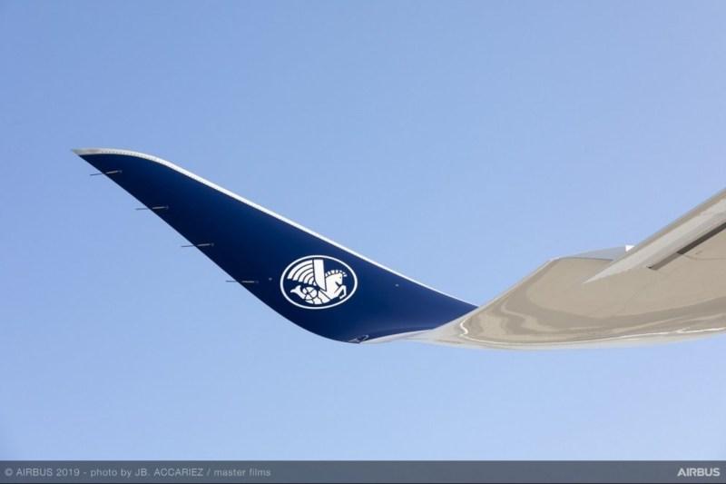 Air France Primeiro A350-900 Cavalo Marinho