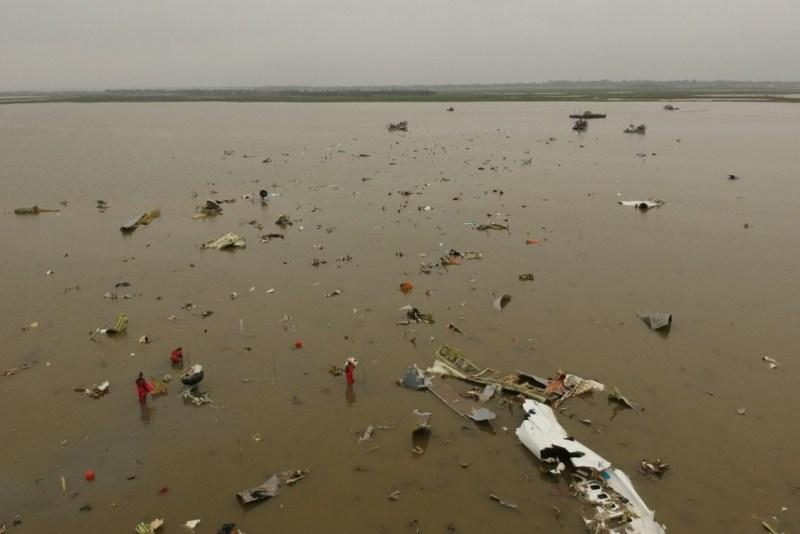 Amazon 767 Crash Site Texas