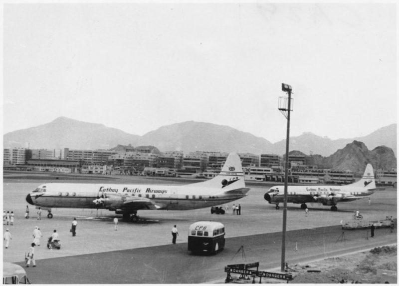 Cathay Pacific Aeroporto Kai Tak