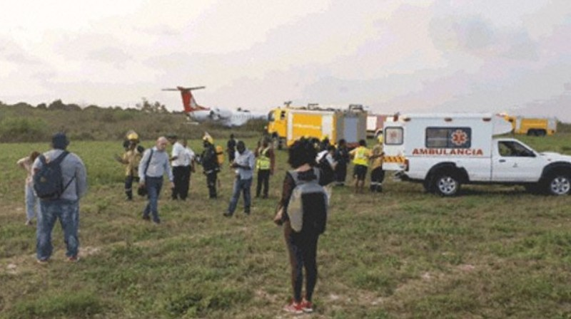 Expresso Moçambique Incidente Embraer ERJ-145