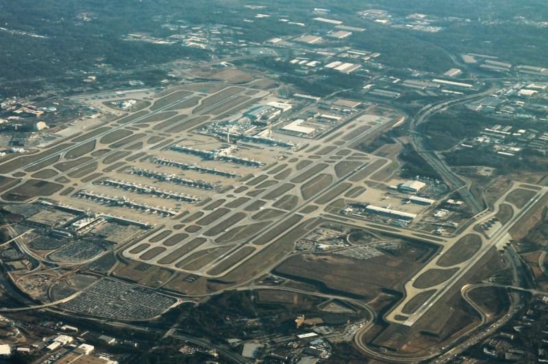 Imagem Aérea Aeroporto Atlanta Hartsfield