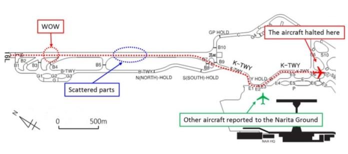 Incidente 777 Korean Mapa JTSB