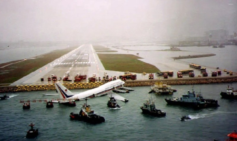 Kai Tak acidente China Airlines