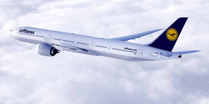 Avião Boeing 777X Lufthansa