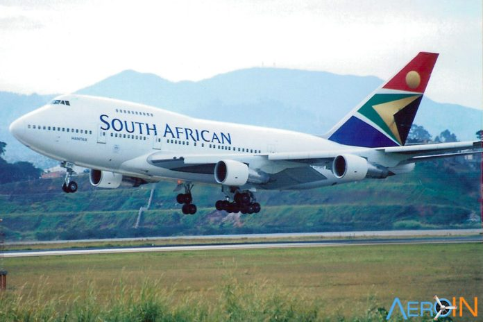 747SP South African